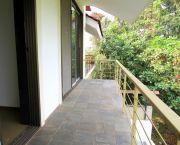 Bedroom balcony overlooking the view