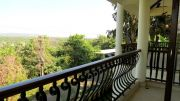 Balcony overlooking the valley view