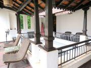 Courtyard railing