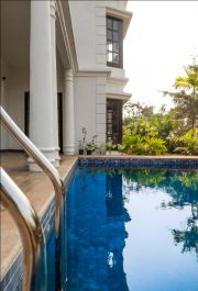 Pool and elevation