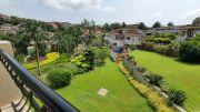 Landscaped garden next to the villa