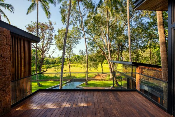 Independent Villa with field view