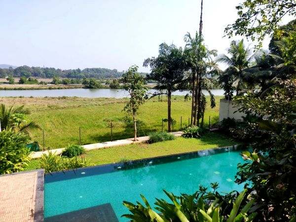 Bespoke Villa with field & river view at Nachinola